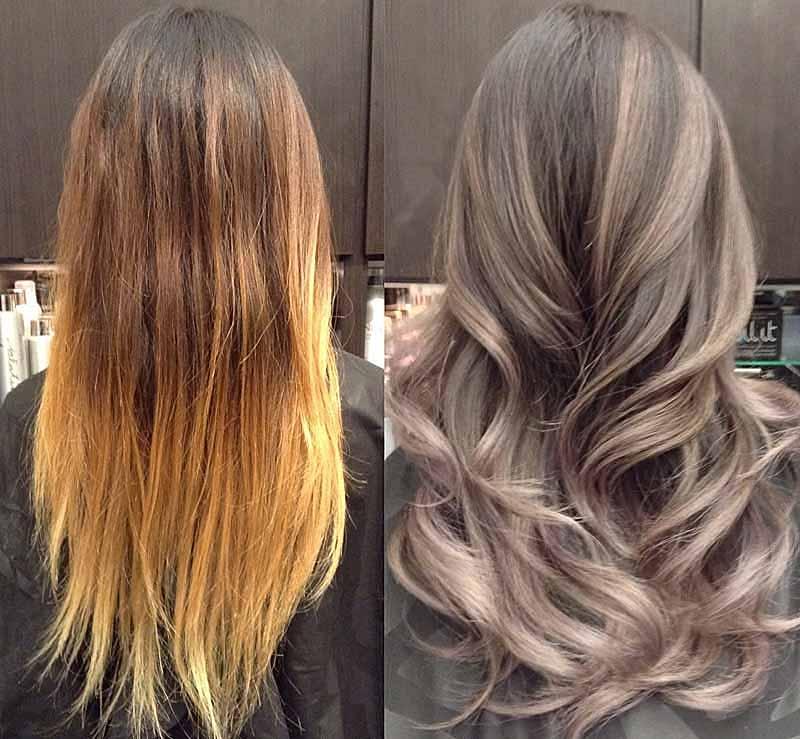 фото колорування світлого волосся